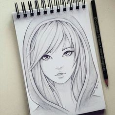 Help For pencil drawing – Art Sketches Girly Drawings, Art Drawings Sketches Simple, Pencil Art Drawings, Beautiful Drawings, Contour Drawings, Charcoal Drawings, Drawing Faces, Girl Pencil Drawing, Drawings Of Couples