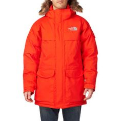 The North Face Mcmurdo Parka Jacket - Spicy Orange
