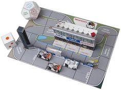 PAPERMAU: Sahara Force India Formula 1 Dice Game Papercraft - by NEC