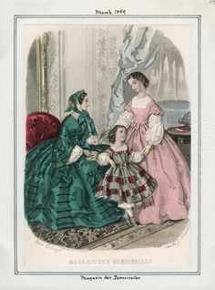 Magasin des Demoiselles March 1859 LAPL