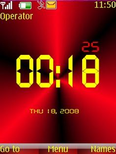 Download Red Digital Clock S40 Theme 39761 from Free Nokia Themes. Compatible Mobile Devices For Red Digital Clock S40 Mobile Themes 2700 classic,2720 Fold ,2730 Classic ,3600 Slide ,3600 Slide ,3610 Fold ,3720 Classic ,50 240x320, 2700 classic, 2720 Fold, 2730 Classic, 3600 slide, 3610 Fold, 3720 Classic, 5000, 5130 Xpress Music, 5132 XpressMusic, 5220 Xpress Music, 5300, 5310Xpress Music, 5330 Xpress Music, 5610 Xpress Music, 6300, 6300i, 6301, 6303, 6303i, 6500, abstract clock theme, Asha…