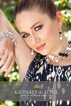 The classic Palm Beach Lariat Necklace in grey and white pearls and onyx. This necklace can be worn as a single, double or triple. Palm Beach Fl, Jewelry Showcases, Pearl Choker, Photography Services, Baroque Pearls, Lariat Necklace, Cultured Pearls, Photoshop, Web Development