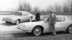 1963 Studebaker Avanti designed by the father of industrial and automotive design, Raymond Loewy Raymond Loewy, Vintage Cars, Antique Cars, Futuristic Cars, Automotive Design, Auto Design, Fast Cars, Cadillac, Ford Mustang