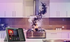 Make your home a safe place to live. Kitchen Stove, Kitchen Appliances, Home Automation, Smart Home, Make It Yourself, Safe Place, Building, Strands, Kitchen Stove Interior