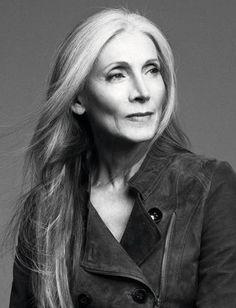 eveline hall, supermodel at 66