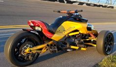 """[pb_row][pb_column span=""""span12""""][pb_text] At Daytona Beach in Florida within at Daytona International Speedway's, presented the Can-Am, which is so far the most powerful all in tribute to NASCAR while celebrating BRP's heritage of innovation. New unique Can-Am Spyder F3 Turbo Concept r"""