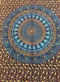 Indian-Mandala-Twin-Tapestry-Hippie-Elephant-Tapestries-Wall-Hanging-cover-throw