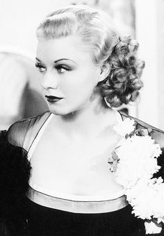 Ginger Rogers hair inspiration for She Loves Me                                                                                                                                                                                 More