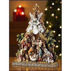 """10.5"""" Nativity Figurine"""