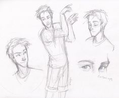 character design for Dragon's End, which i've been drawing for and is being published soon! cheeeck it out! Carlson (c) Gregory Rinaldi eh, he's a basketball playa. can you tell?