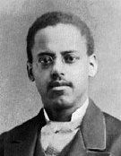 Lewis Howard Latimer (1848-1928), an American inventor and engineer who invented the first incandescent light bulb with a carbon filament, which gave light bulbs a longer life and made them less expensive and more efficient.  Latimer had the distinction of being the only African American member of the Edison Pioneers. While with the engineering division of the Edison Company, he publ