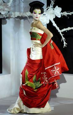 Christian Dior Kimono  Japanese wedding Ideas  Bridal Kimono