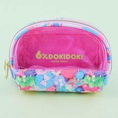 6%DOKIDOKI Rainbow Stash Shell-Shaped Pouch - Blippo Kawaii Shop Harajuku, Kawaii Accessories, Kawaii Shop, Pouch, Wallet, Welcome Gifts, Shells, Coin Purse, Super Cute