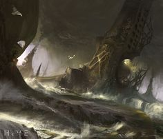 Terraformers, Titus Lunter on ArtStation at https://www.artstation.com/artwork/K2lJG
