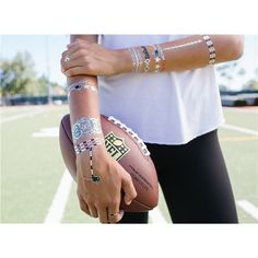 New England Patriots NFL Metallic Jewelry Tattoos by Lulu DK   Pro Football Hall of Fame Official Site