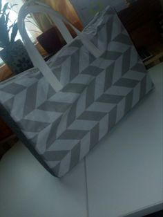 Grey laptop bag, my work