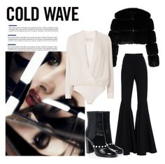 """Cold Wave Styling."" by p-tsouros ❤ liked on Polyvore featuring Givenchy, Alexis, Michelle Mason, Chanel and polyvorefashion"