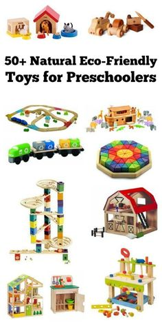 These natural eco-friendly learning toys for preschoolers make great gift ideas for birthdays, Christmas, or any other occasion! Most of these are Waldorf and Montessori inspired toys made with natural materials. Toys made with natural materials such as w Montessori Activities, Toddler Activities, Preschool Activities, Montessori Education, Baby Education, Waldorf Education, Montessori Toddler, Wooden Baby Toys, Wood Toys