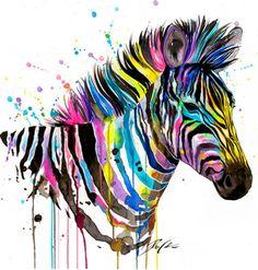 Nursery Art ZEBRA Archival Print by trafalgarssquare on Etsy Zebra Drawing, Zebra Painting, Zebra Art, Watercolor Animals, Watercolor Print, Watercolor Paintings, Watercolors, Animal Paintings, Animal Drawings