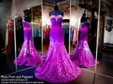 Purple Sweetheart Mermaid Prom Dress - Rsvp XTR - Long Gown - Rsvp Prom and Pageant - 1