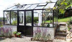 Mur Maxi 4 Garden Nook, Garden Studio, Outdoor Rooms, Outdoor Gardens, Outdoor Living, Glass House Garden, Home And Garden, Gazebo, Pergola