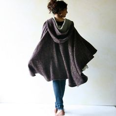 Hey, I found this really awesome Etsy listing at https://www.etsy.com/listing/203178430/wool-cape-women-cape-hooded-cloak-winter