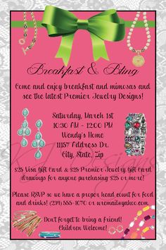Jewelry Party Invitation  DIGITAL  jewelry by kjdesignsshop, $8.00
