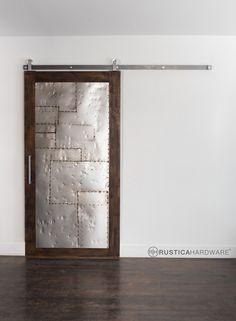 Steampunk Scrap Metal ™ Door | Rustica Hardware