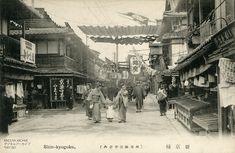 Kyoto Shin-kyogoku 絵葉書京都明治大正期