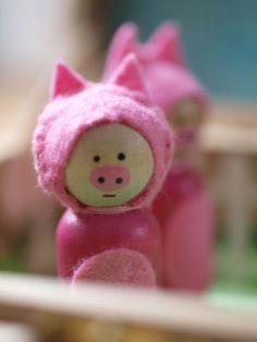 By Hook & Thread: 3 Little Pigs