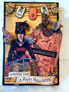 Steampunk Spells - Graphic 45 - Card 4 - annespapercreations