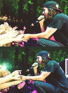 This is something that I love about Vic Fuentes along with all the members of Pierce The Veil. They interact with their fans like this and it just warms my heart because they know that their music has helped people through everything in life.