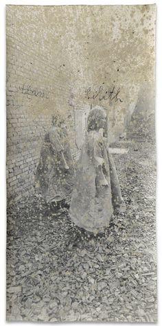 Anselm Kiefer, Adam Lilith on ArtStack Anselm Kiefer, Modern Art, Contemporary Art, Musée Rodin, Statues, Collage Art Mixed Media, Postmodernism, Gravure, Artist Art