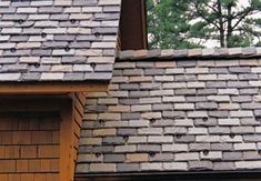 Natural Slate Roof - Extreme durability makes slate roofs green: they routinely last 75 to 150 years (especially if installed with rustproof stainless steel nails). Slate is an expensive choice that requires specialized skills for installation and repair, but long-term reliability gives it a low annual cost.