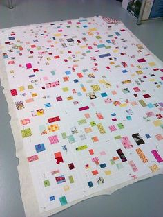 confetti quilt For all my scraps