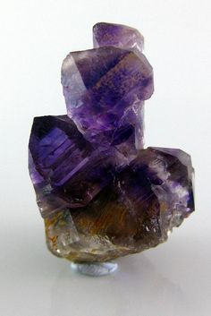 Quartz var. Amethyst  Harts Range N.T.~Thats to the east of Alice Springs a designated Gem fossicking area..Ayers Rock/Uluroo is to the west where most tourists go..