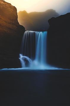 """ Misty Falls ©"""