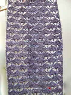 crochet scarf for girl