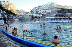 19 Colorado Hot Springs: A Quick Guide Road Trip To Colorado, Living In Denver Colorado, Denver Colorado Vacation, Living In Colorado Springs, Colorado Tourism, Glenwood Springs Colorado, Durango Colorado, Denver Travel, Boulder Colorado