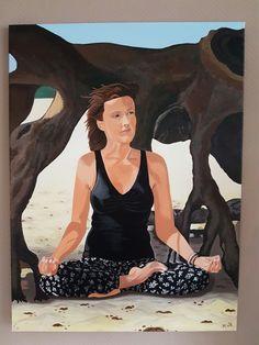 Zen in duinen. Rust,yoga,tot je zelf komen. Innerlijke rust.