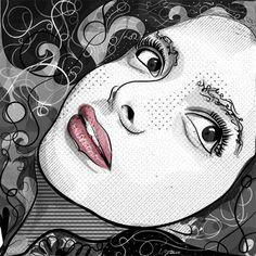 Ilustraciones by Israel Zamora, via Behance