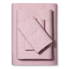 sheet set | target threshold | cotton | pink | dot |  $56K 46Q 40F