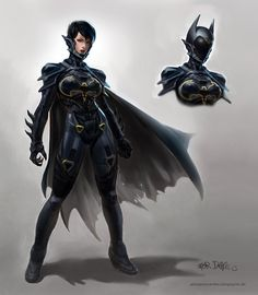 The Cassandra Cain Batgirl by *AlexPascenko on deviantART