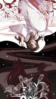 Tags: Kamisama Hajimemashita, Sidelocks, Low Ponytail, Nanami Momozono, Tomoe (Kamisama Hajimemashita), Pixiv Id 671731
