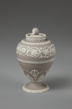 Tea canister Tea canister Josiah Wedgwood and Sons Enlarge image Tea canister Tea canister Tea canister Explore related objects