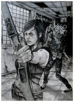 Grown Ellie - Endure and survive - The last of us
