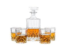 Emerson Decanter Set For Whiskey, Wine or Liquor. This LE...