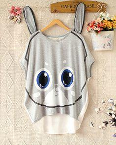 $26.00   Summer fashion cute bunny T-shirt