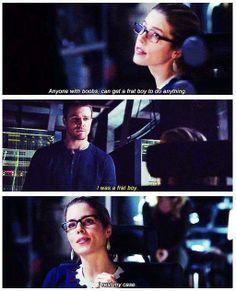 Arrow - Felicity & Oliver #2.17 #Season2 #Olicity Arrow Felicity, Oliver And Felicity, Felicity Smoak, The Cw Shows, Dc Tv Shows, Team Arrow, Arrow Tv, Supergirl Dc, Supergirl And Flash