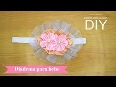 Como Hacer Lazos 🎀 DIY #112 Cintillo Elástico para Bebes Tutorial - YouTube Baby Girl Headbands, I Am Awesome, Diy, Tableware, Google, Youtube, Canvas, Paper, Chic Baby